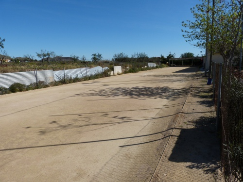 Campo de Bolos Cartageneros en Los Puertos de Santa Bárbara Bajo