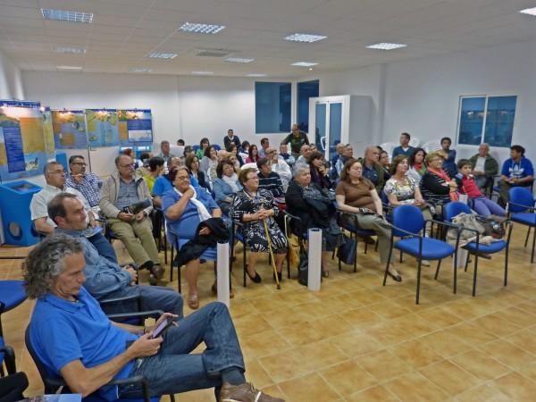 P1120664 Asistentes a las charlas de Los Puertos de Santa Bárbara