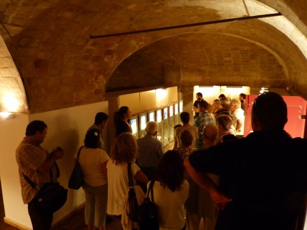 Socios de la Entidad de Custodia en el Museo del Vino de Bullas