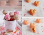 19. Cake pops de almendra y chocolate y pequeños bombones almendrados