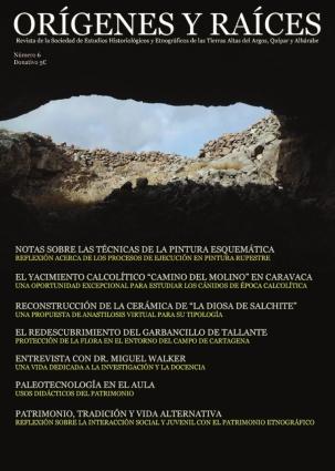 Portada del número 6 de la Revista Orígenes y Raíces