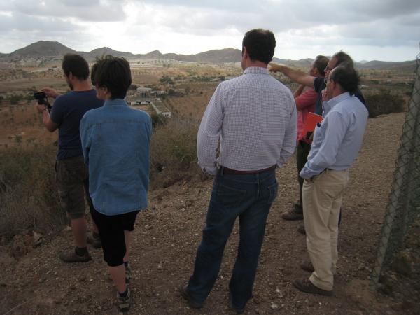Imagen tomada durante la visita al territorio de ECUGA