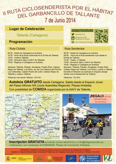 Ruta Ciclosenderista Tallante_Itinerario ampliado