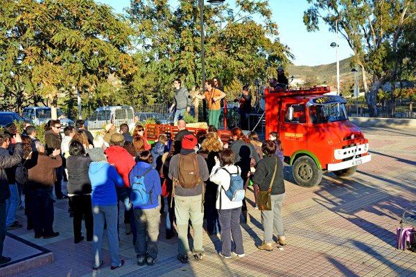 27_01_Y volvemos a la grabación acompañados de multitud de vecinos, propietarios, socios de la ECUGA y amigos del garbancillo