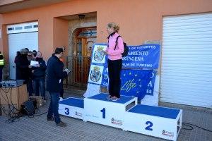 10k6 Cat. aljorreños femenino. 1ª Antonia Vidal, 2ª Sonia Guillen Calderón