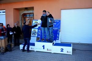 22k Cat. Aljorreños masculinos. 1º Miguel Angel, 2º Albaladelo y 3º Pablo Rosique Vidal