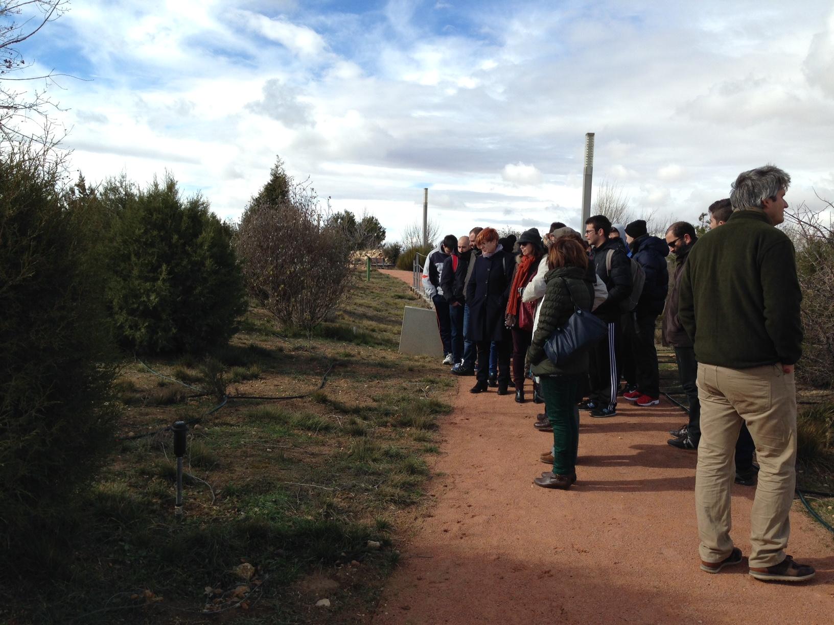 Resumen de la jornada divulgativa en jard n bot nico de for Jardin botanico castilla la mancha