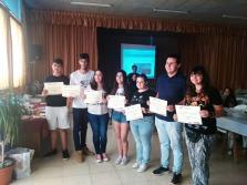 Ganadores del Concurso de mini videos Corresponsal Juvenil