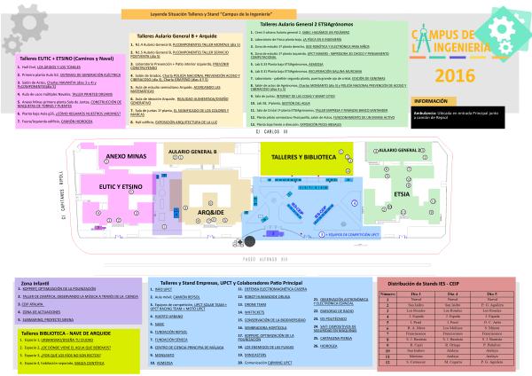Plano Campus de la Ingeniería 2016